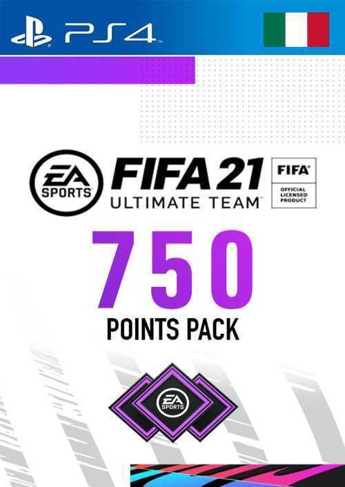 FIFA 21 Ultimate Team 750 Points Pack PS4 (Italy)