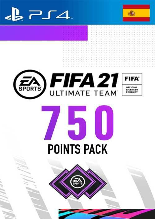 FIFA 21 Ultimate Team 750 Points Pack PS4 (Spain)