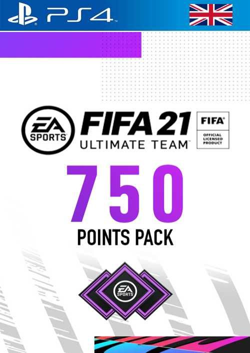 FIFA 21 Ultimate Team 750 Points Pack PS4 (UK)