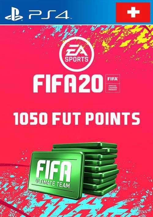 1050 FIFA 20 Ultimate Team Points PS4 (Switzerland)