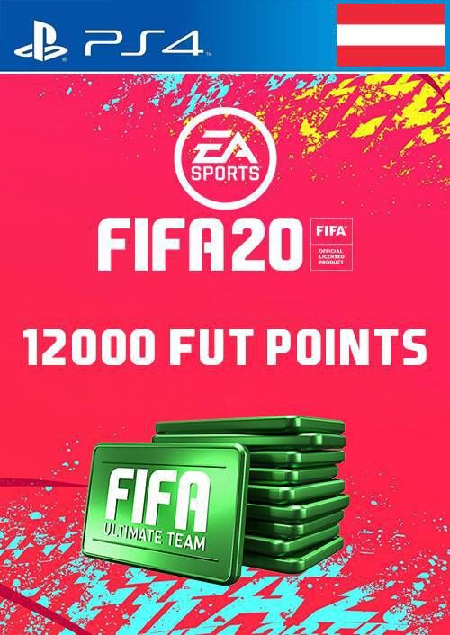 12000 FIFA 20 Ultimate Team Points PS4 (Austria)