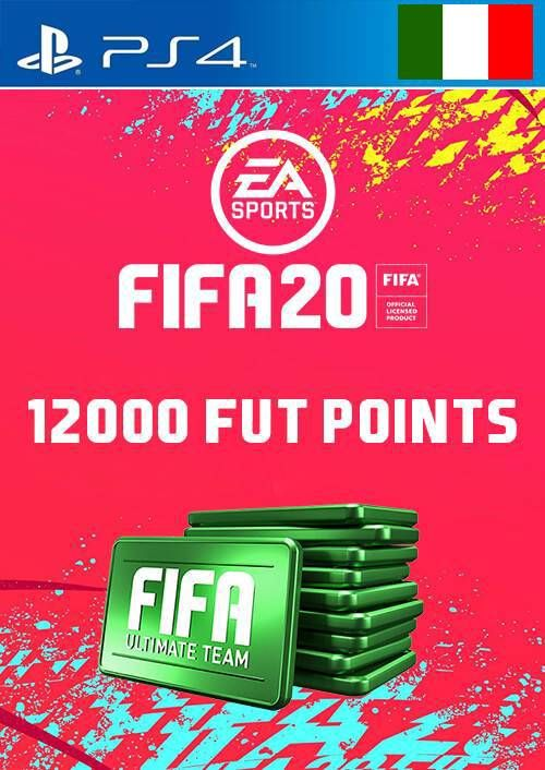12000 FIFA 20 Ultimate Team Points PS4 (Italy)