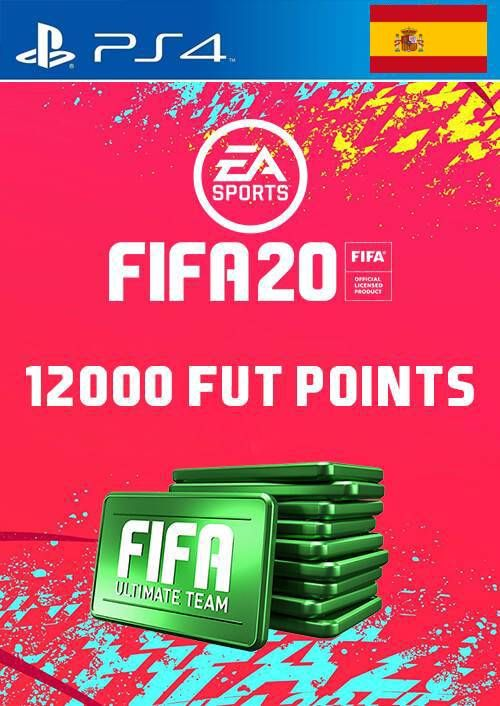 12000 FIFA 20 Ultimate Team Points PS4 (Spain)