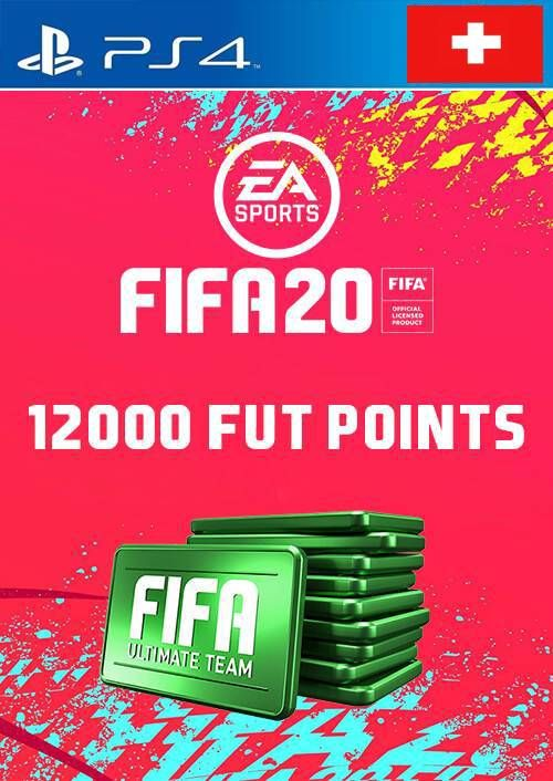 12000 FIFA 20 Ultimate Team Points PS4 (Switzerland)