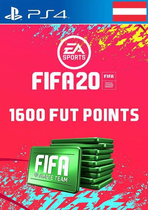 1600 FIFA 20 Ultimate Team Points PS4 (Austria)