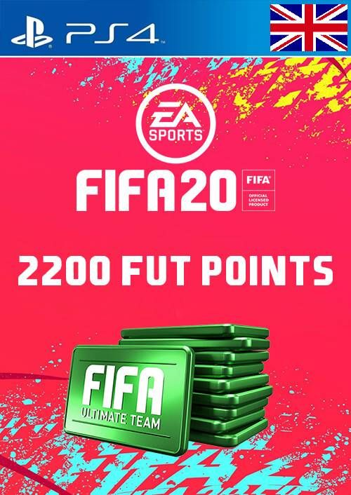 2200 FIFA 20 Ultimate Team Points PS4 PSN Code - UK account