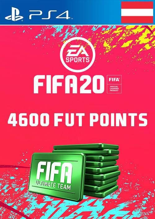 4600 FIFA 20 Ultimate Team Points PS4 (Austria)