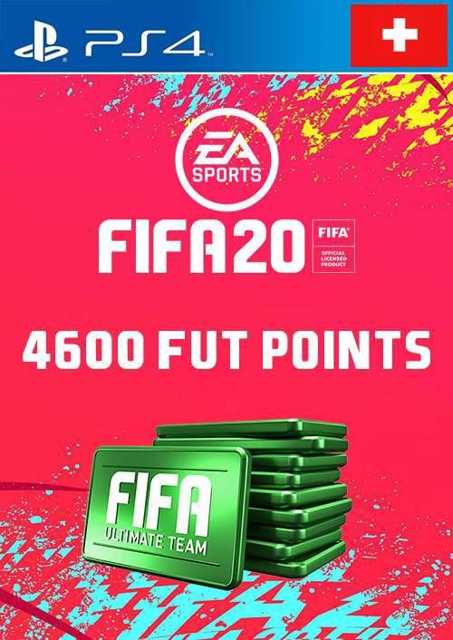 4600 FIFA 20 Ultimate Team Points PS4 (Switzerland)