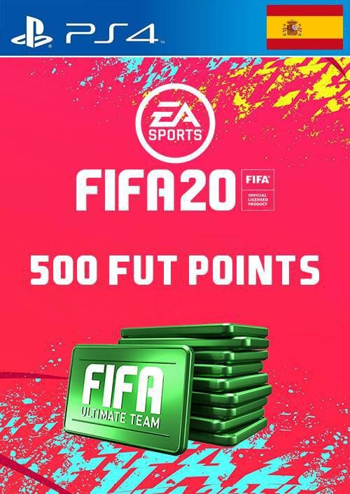 500 FIFA 20 Ultimate Team Points PS4 (Spain)