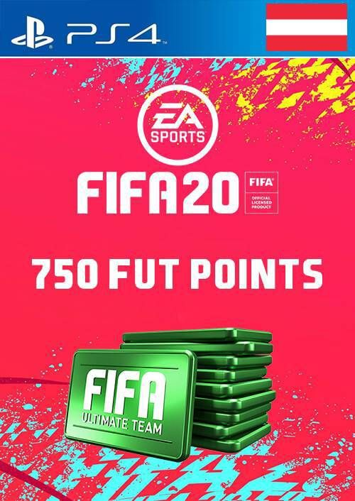 750 FIFA 20 Ultimate Team Points PS4 (Austria)