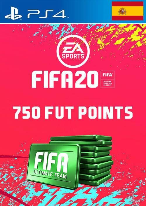 750 FIFA 20 Ultimate Team Points PS4 (Spain)