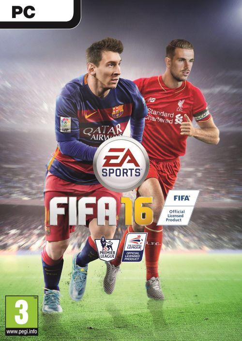 FIFA 16 PC + 15 FUT GOLD PACKS