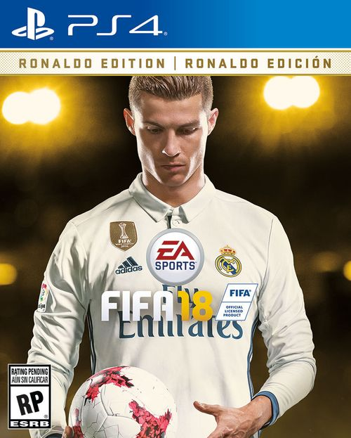 FIFA 18: Ronaldo Edition PS4 US