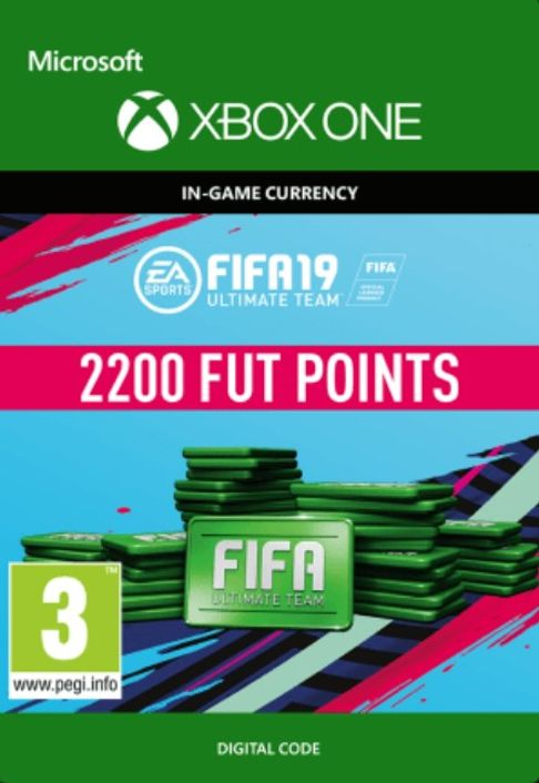 Fifa 19 - 2200 FUT Points (Xbox One)