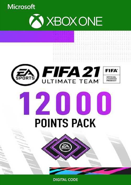 FIFA 21 Ultimate Team 12000 Points Pack Xbox One