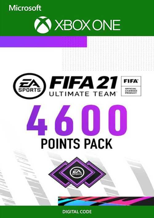 FIFA 21 Ultimate Team 4600 Points Pack Xbox One