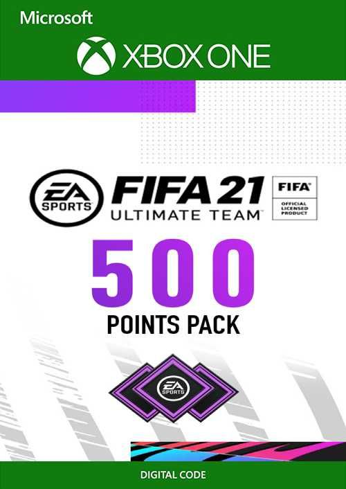 FIFA 21 Ultimate Team 500 Points Pack Xbox One