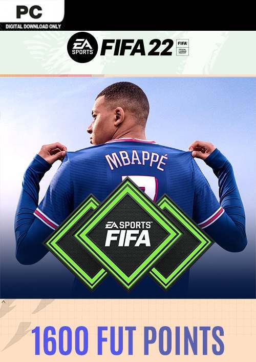 FIFA 22 Ultimate Team 1600 Points Pack PC
