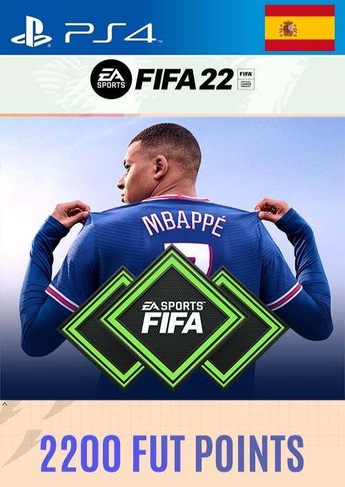 FIFA 22 Ultimate Team 2200 Points Pack  PS4/PS5 (Spain)