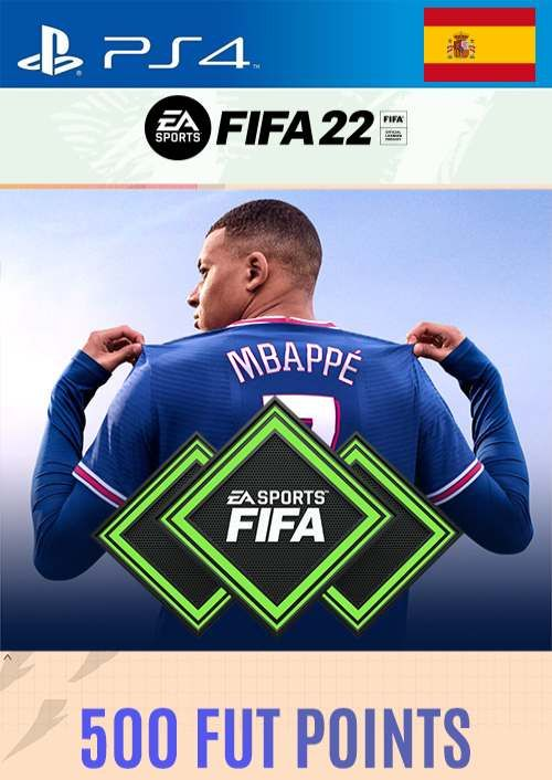 FIFA 22 Ultimate Team 500 Points Pack  PS4/PS5 (Spain)