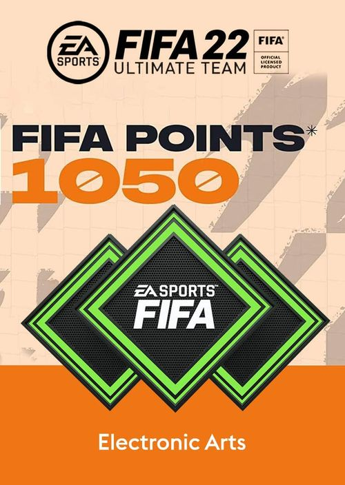 FIFA 22 Ultimate Team 1050 Points Pack PC