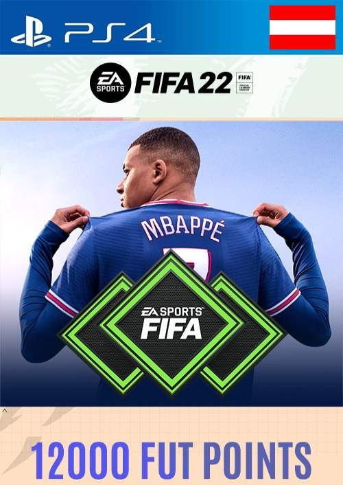 FIFA 22 Ultimate Team 12000 Points Pack  PS4/PS5 (Austria)
