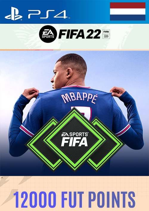 FIFA 22 Ultimate Team 12000 Points Pack  PS4/PS5 (Netherlands)