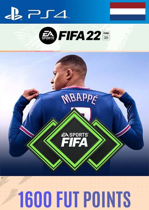 FIFA 22 Ultimate Team 1600 Points Pack  PS4/PS5 (Netherlands)