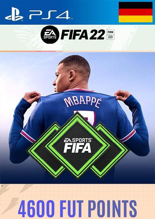 FIFA 22 Ultimate Team 4600 Points Pack  PS4/PS5 (Germany)