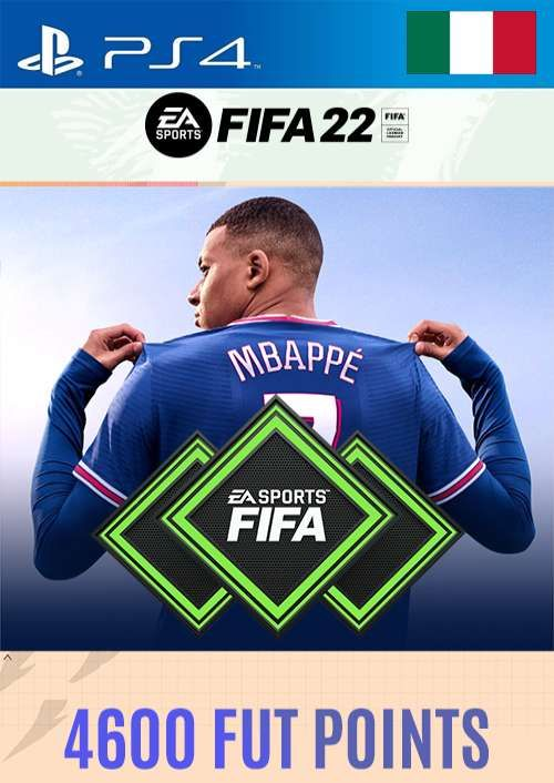 FIFA 22 Ultimate Team 4600 Points Pack  PS4/PS5 (Italy)