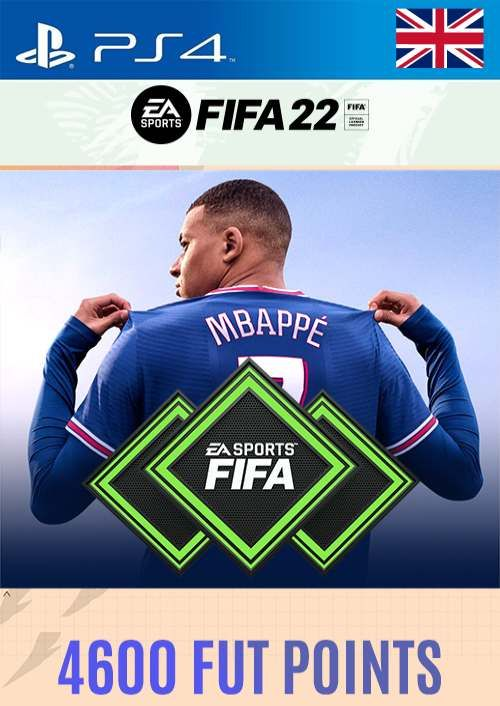 FIFA 22 Ultimate Team 4600 Points Pack  PS4/PS5 (UK)