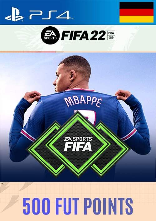 FIFA 22 Ultimate Team 500 Points Pack  PS4/PS5 (Germany)