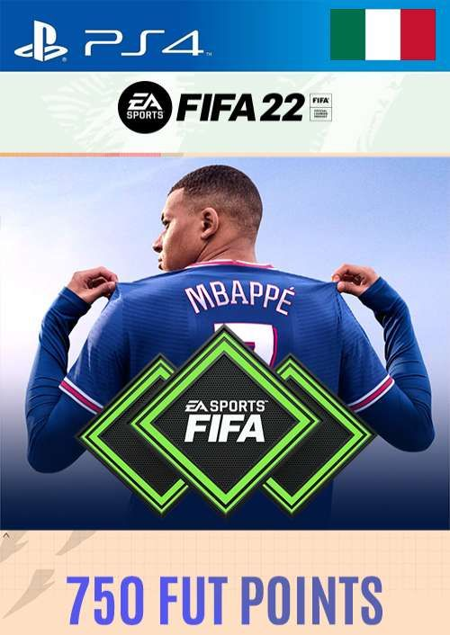 FIFA 22 Ultimate Team 750 Points Pack  PS4/PS5 (Italy)
