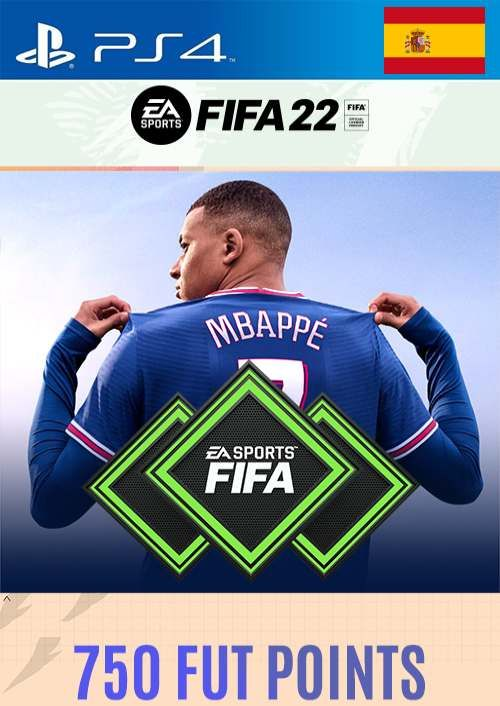 FIFA 22 Ultimate Team 750 Points Pack  PS4/PS5 (Spain)
