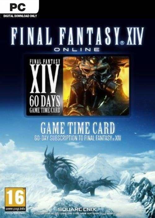 Final Fantasy XIV 14: A Realm Reborn 60 Day Time Card PC (EU)
