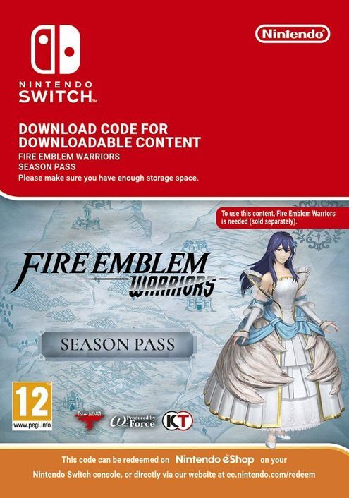 Fire Emblem Warriors Season Pass Switch
