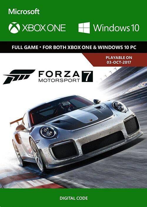 Forza Motorsport 7 Standard Edition Xbox One/PC (UK)