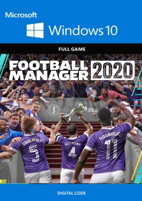 Football Manager 2020 PC - Windows 10 (UK)