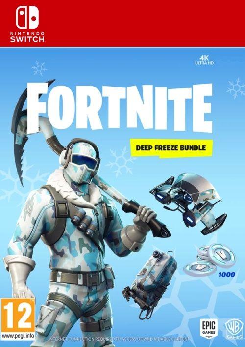 Fortnite Deep Freeze Bundle Switch