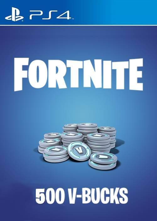 Fortnute Picture 1500 X 1000: 500 V-Bucks PS4 (EU) CD Key, Key