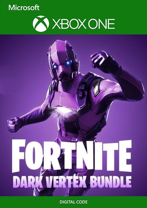 Fortnite Bundle Dark Vertex 2 000 V Buck Xbox One