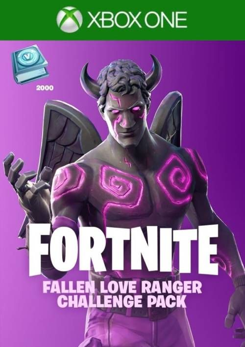 Fortnite - Fallen Love Ranger Challenge Pack + 2000 V-Bucks Xbox One