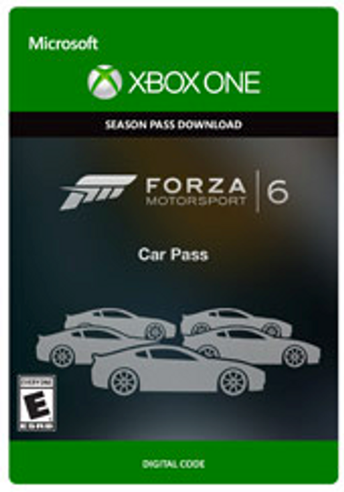 Forza Motorsport 6 Car Pass Xbox One - Digital Code