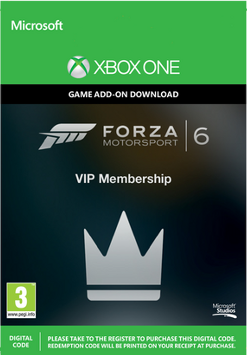 Forza Motorsport 6 VIP Membership Xbox One - Digital Code