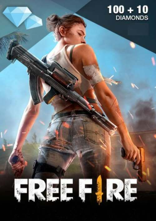 Free Fire 100 + 10 Diamonds