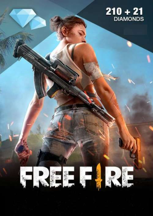Free Fire 210 + 21 Diamonds