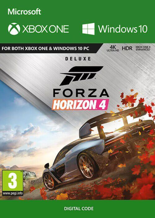 Forza Horizon 4: Deluxe Edition Xbox One/PC