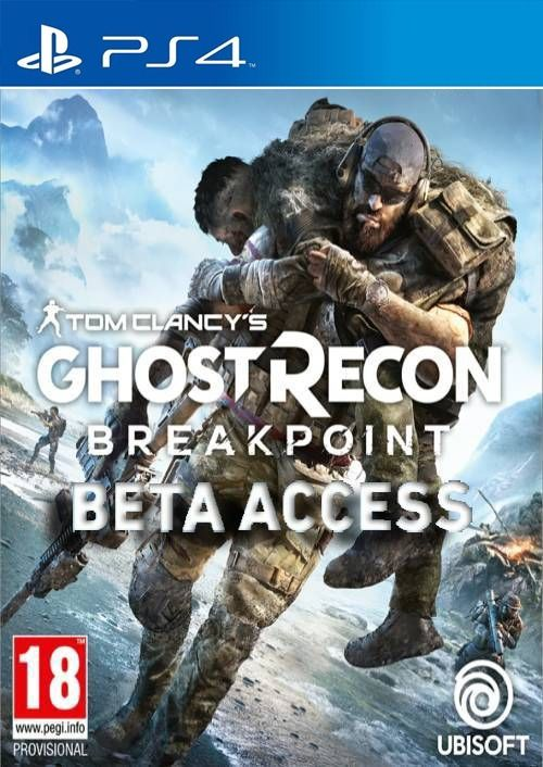 Tom Clancys Ghost Recon Breakpoint Beta PS4
