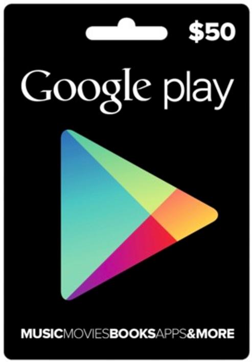 Google Play Gift Card $50 USD