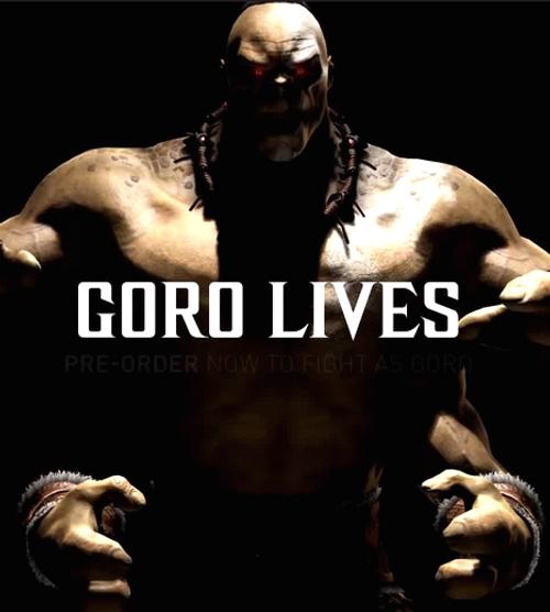 Mortal Kombat X PC Goro DLC